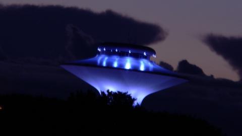 Треугольный НЛО «облучал» жителей Пензы яркими лампочками