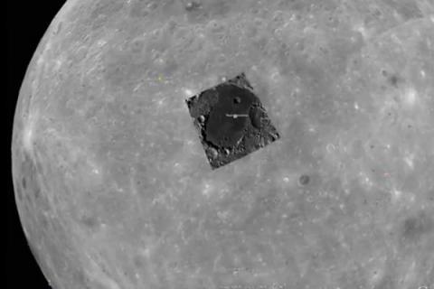 На Луне обнаружена база инопланетян – уфологи