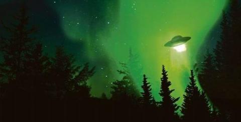 НЛО в Севастополе: ярко-зеленый корабль пришельцев ошарашил внезапным появлением жителей Севастополя на 9 мая