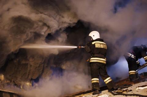 В Евпатории произошел пожар в частном пансионате, есть пострадавшие