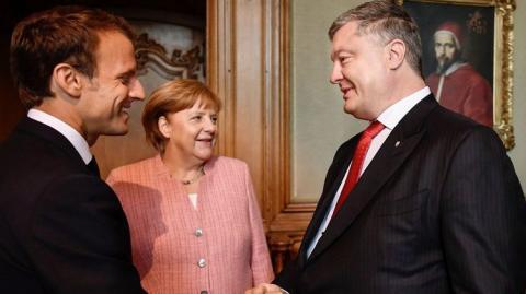 порошенко заявил о мощной поддержке Украины Западом