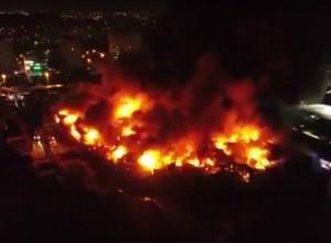 Пожар на рынке Темерник в Ростове-на-Дону: изменена схема движения общественного транспорта, последние новости