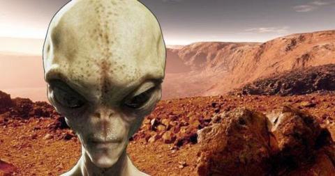 На Марсе за инопланетным творением стоят пришельцы – уфологи