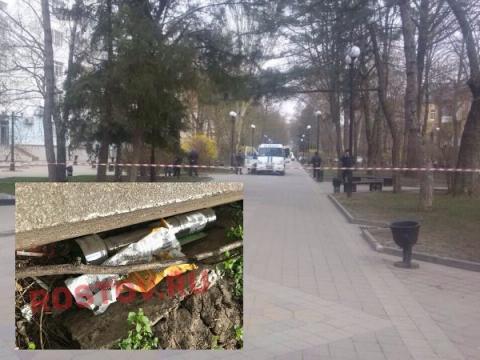 Бомба на Пушкинской улице