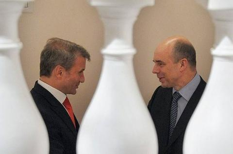 Греф и Силуанов