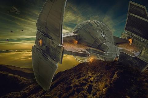 Окаменевший инопланетный корабль: удивительная находка в Оклахоме