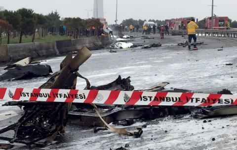 Крушение вертолета в Турции сегодня, 10 марта 2017: список погибших