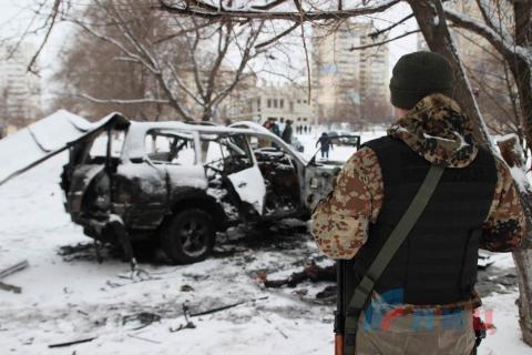 Теракт в ЛНР