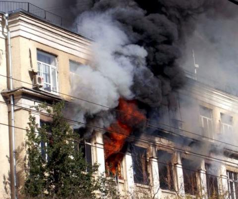 В Москве крупный пожар привел к жертвам – СМИ