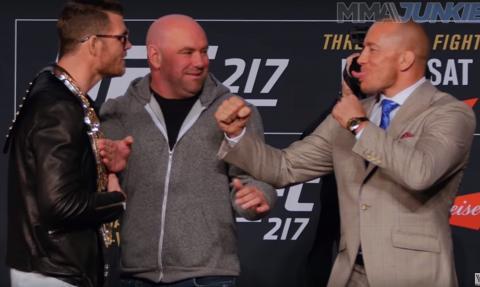 Турнир MMA UFC 217 в Нью-Йорке 4-5 ноября: кард, когда – время, бой Биспинг – Сент-Пьер, Олейник – Блейдс, где смотреть прямую трансляцию