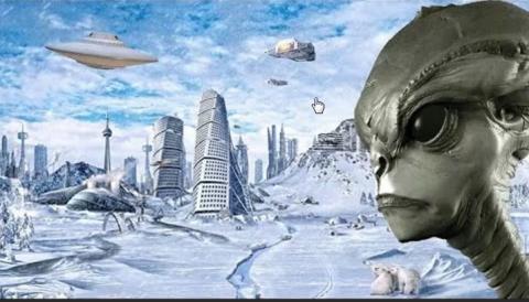 В Антарктиде засекреченный подземный город принадлежит пришельцам с Нибиру – исследователи