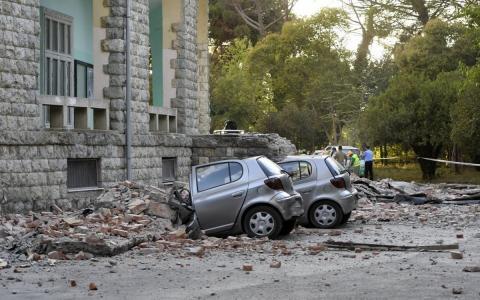 В Албании произошло сильное землетрясение, есть пострадавшие
