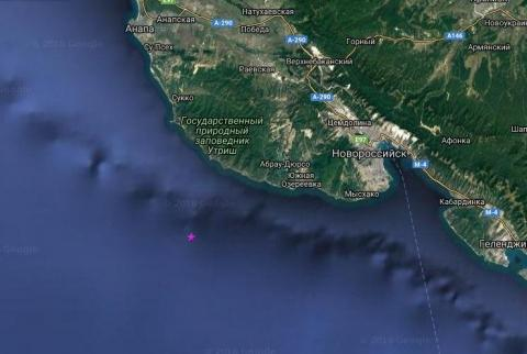 В Анапе зафиксировано землетрясение магнитудой 4 балла