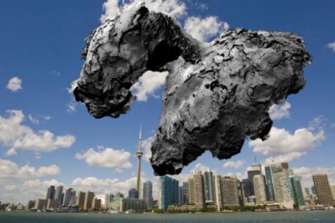 Льды изменили облик кометы Чурюмова-Герасименко