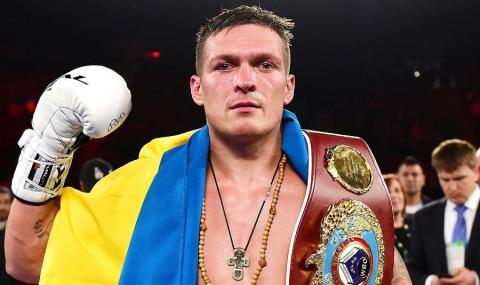 Боксер Усик потерял титул чемпиона, отказавшись от боя с Лебедевым