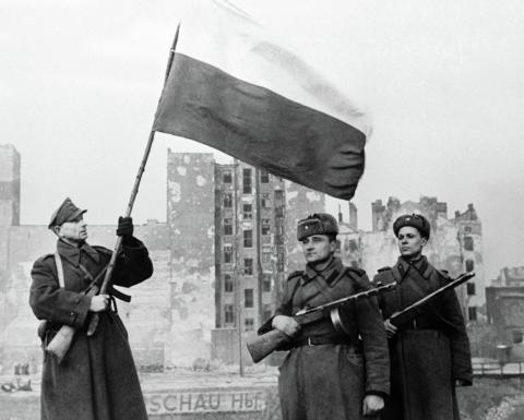 Рассекречены документы об освобождении Варшавы