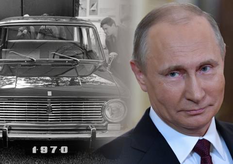Владимир Путин поздравил АвтоВАЗ