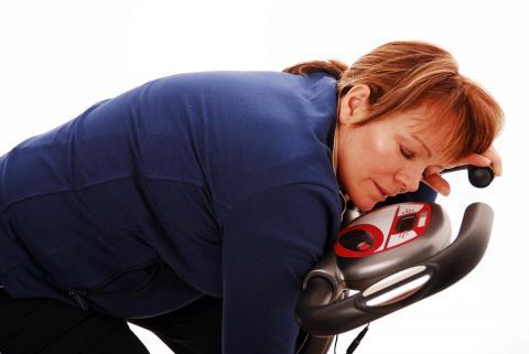 Ударные тренировки на велосипеде для похудения оказались напрасными