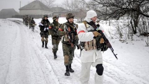 ВСУ Украина военные зима
