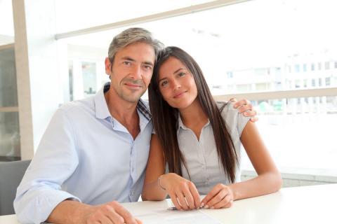 Мужчина и девушка