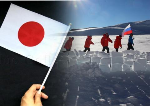россия и япония в антарктике