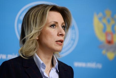 Захарова назвала протесты в Полтаве чудовищным обесчеловечиванием общества