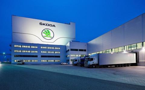 автомобильный завод Škoda картинка