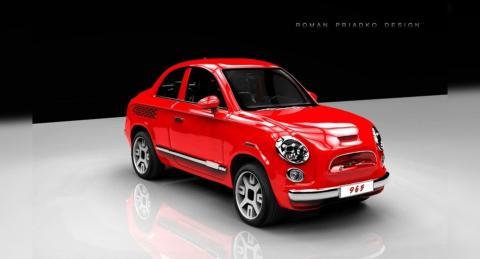 ЗАЗ-965 новый концепт