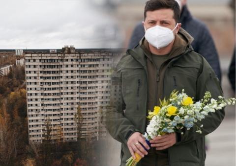 Зеленский Украина Чернобыль