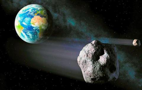 Новая угроза из космоса: гигантский астероид несет Земле «космический» Апокалипсис