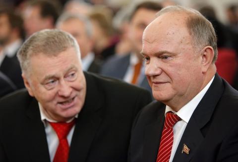 Партии КПРФ и ЛДПР объединятся в коалицию в трех регионах России