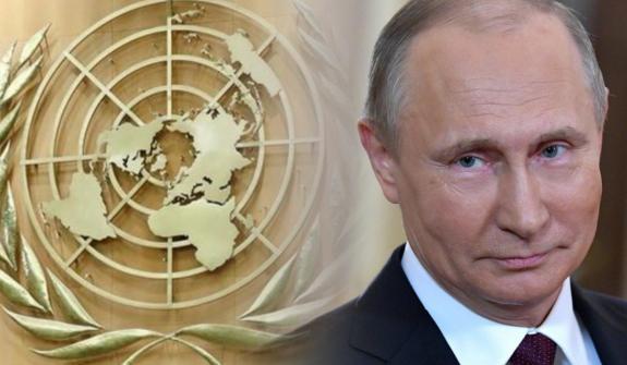 Путин ООН