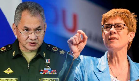 Шойгу ответил министру обороны Германии: