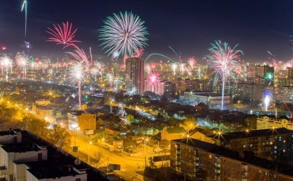 Новый год 2018 в Краснодаре: программа мероприятий в новогодние праздники 2018, салют
