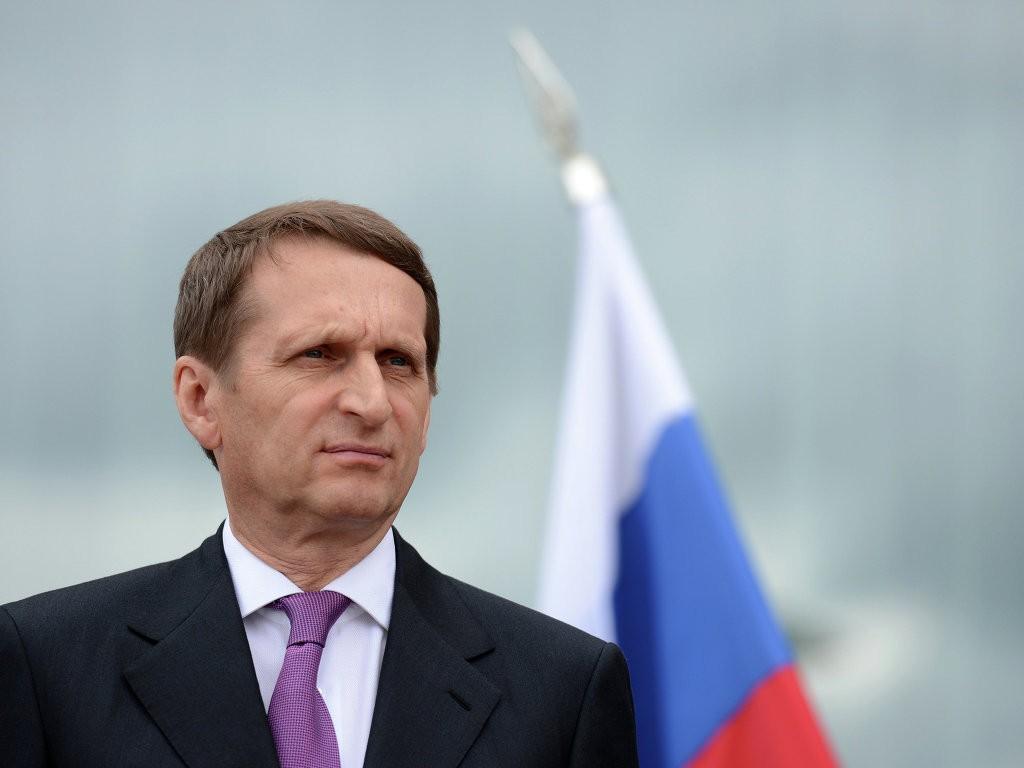 """Нарышкин: Россия готова молниеносно ответить на """"злые идеи"""""""