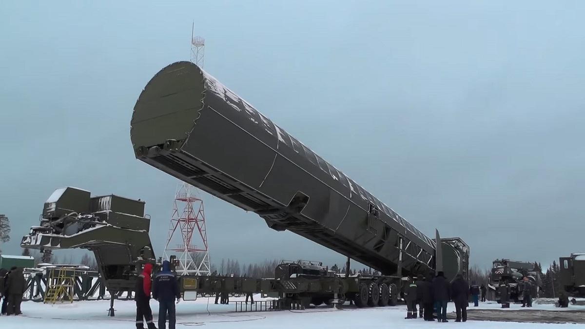 В России пройдут испытания новейшей баллистической ракеты