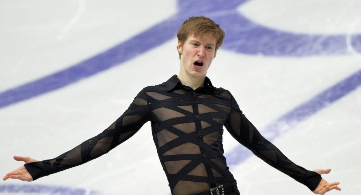 Российские фигуристы-одиночники лидируют на Гран-при в Москве