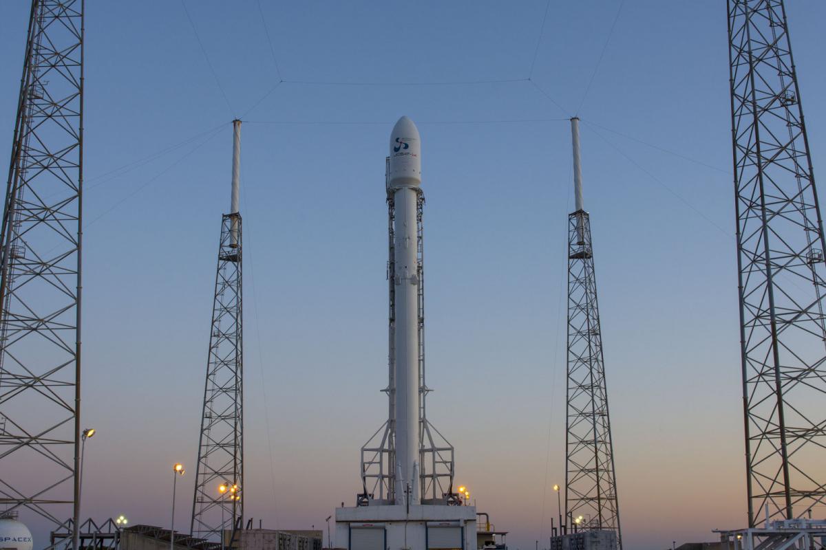 Опытная ракета SpaceX