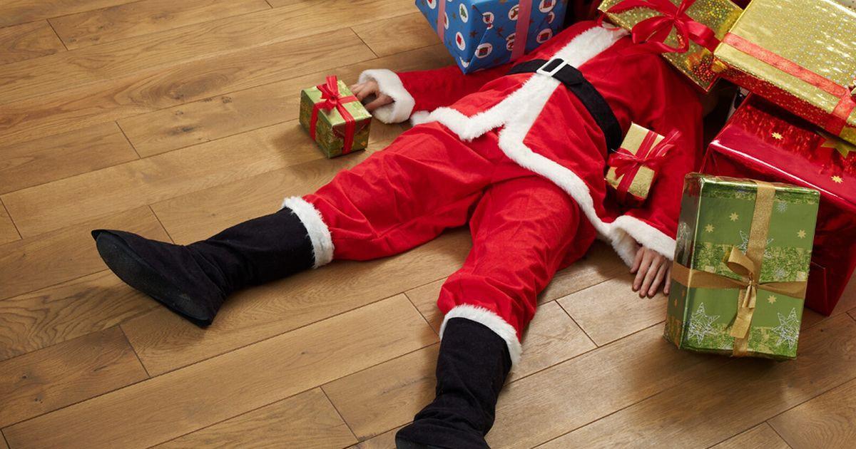 Дети затоптали Деда Мороза из-за конфет в Улан-Удэ