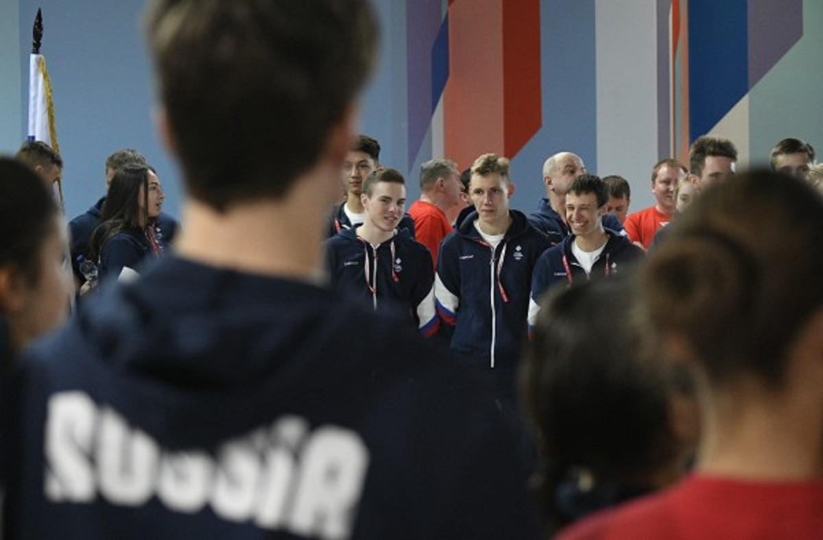 Российская фигуристка упала с 4-метровой высоты на репетиции церемонии открытия юношеской Олимпиады