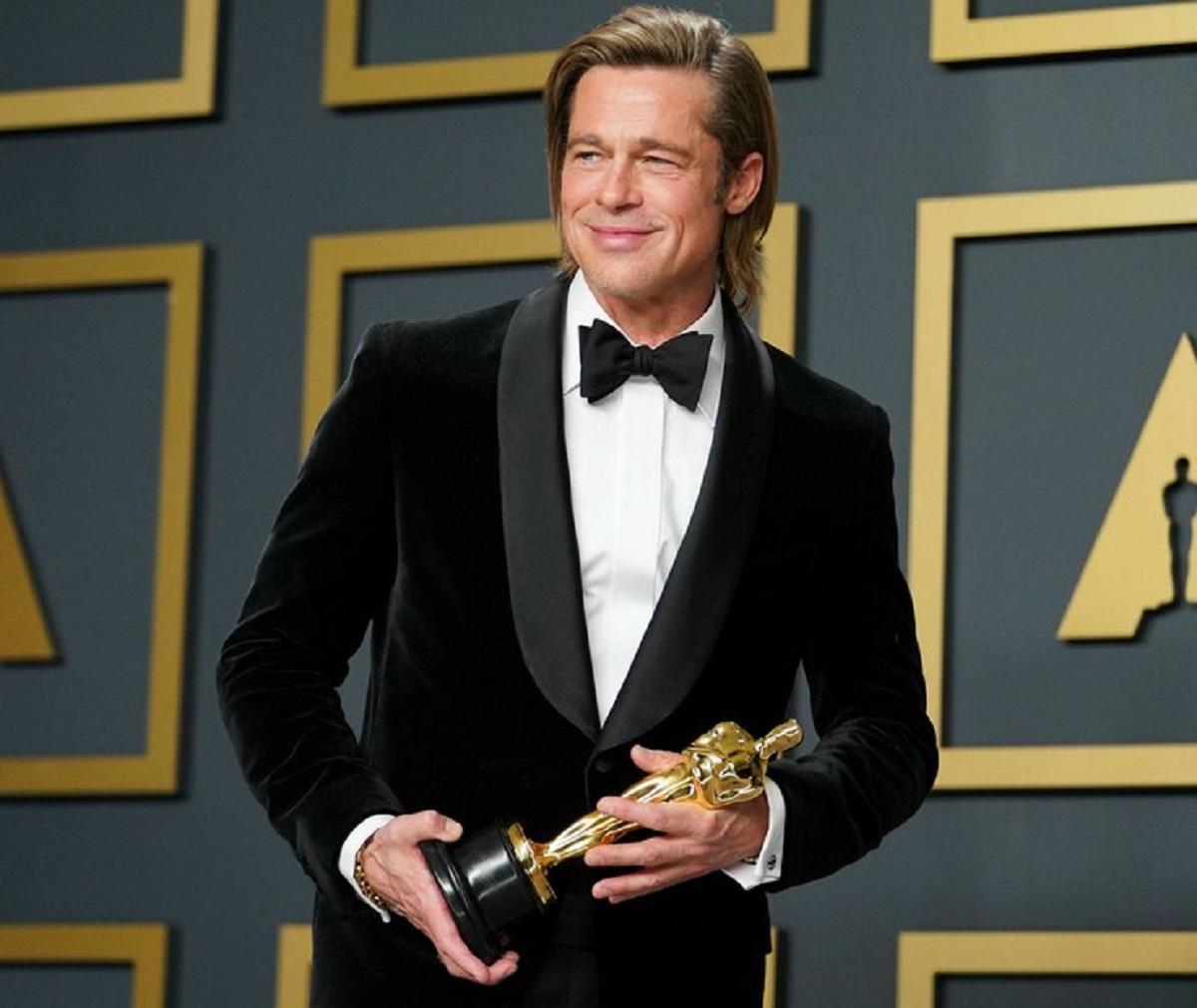 Брэд Питт получил первого «Оскара» в своей карьере
