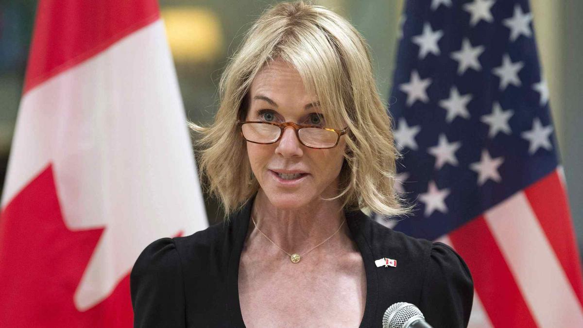 Постоянный представитель США при ООН Келли Крафт