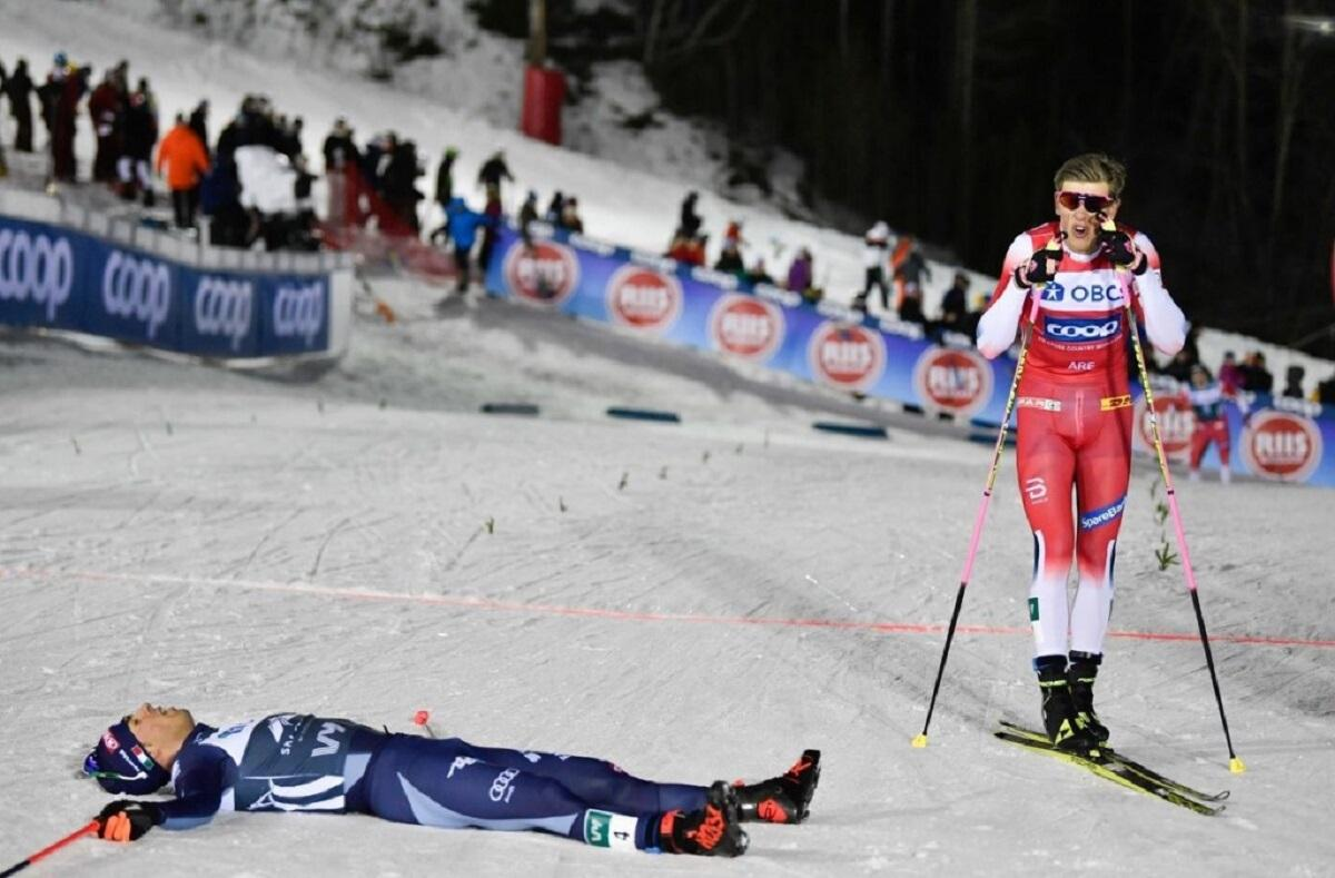 Вяльбе назвала победу Большунова в КМ психологической травмой Норвегии
