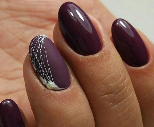 Модный маникюр паутинка - тренд 25, 25 идей дизайна ногтей ...