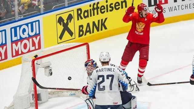 Россия-США, ЧМ по хоккею 2019