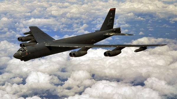 Три американских ядерных бомбардировщика заметили у российских границ