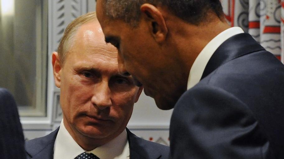 Обама призвал Путина не допустить роста боевых действий в Донбассе