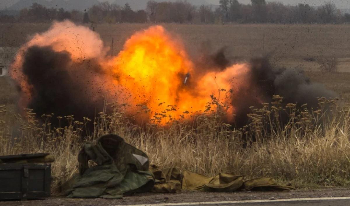 Военные подорвались в Донбассе