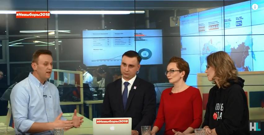 Навальный высказал всё о Ксении Собчак