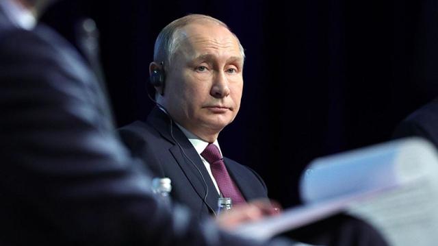 Путин заработал в 2018 году более 8 млн рублей